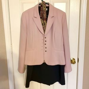 Tahari Blazer & Skirt Set